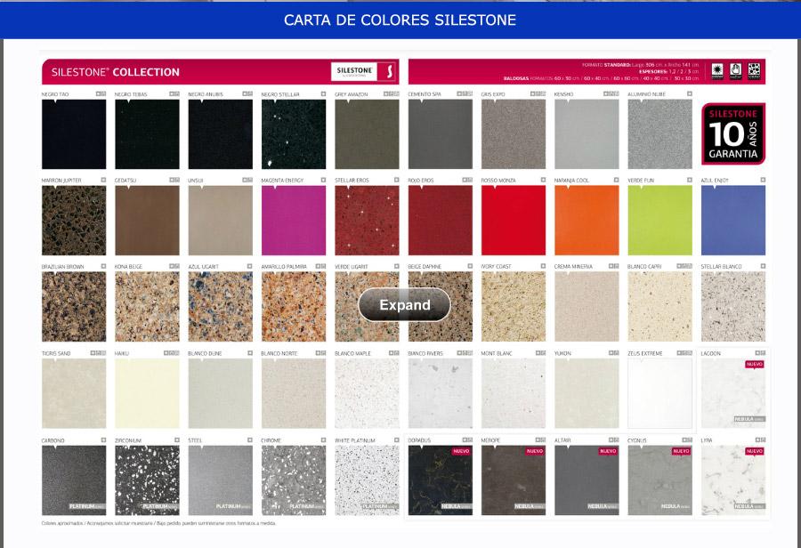 Silestone colores y precios good with silestone colores y for Precios y colores de encimeras de silestone